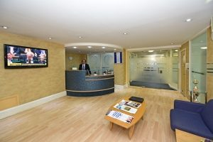 Business Venue Hire Central London Reception